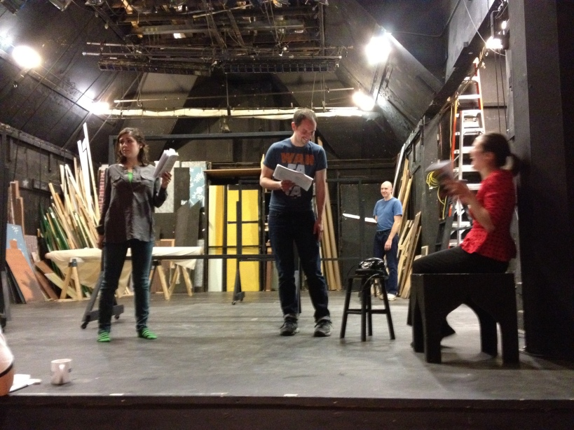 "Rehearsal for ""The 39 Steps"""