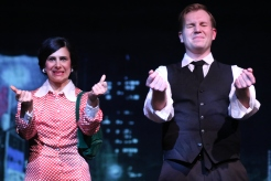 Caroline Keeler as Liza Minnelli, Thom Hardy as Peter Allen