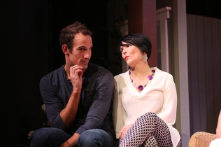 Noah Tobin as Spike, Nancy Finn as Masha
