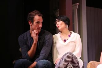 Noah Tobin as Spike, Nancy Finn as Masha