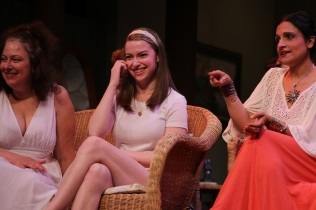 Nicole Williams as Nina, Sophia Miles as Cassandra