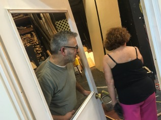 Director Joe Stallone with Producer Barbara Moss