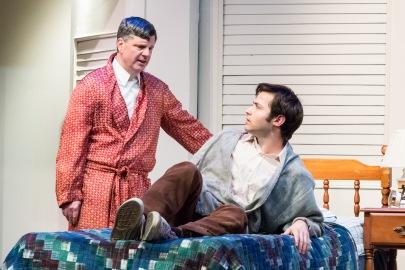 Tom Formicola as Mr Braddock and Dom